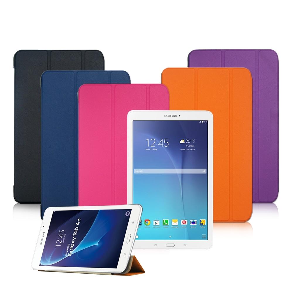 VXTRA SAMSUNG Galaxy Tab A 7.0經典皮紋平板皮套