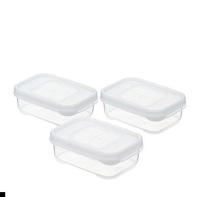 INOMATA 方形 保鮮盒 100ml 3入組 日本原裝進口