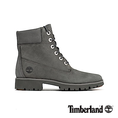 Timberland 女款中灰色磨砂革經典6吋靴 A1X47