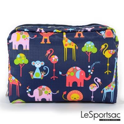 LeSportsac - Standard大型旅行收納包 (寶寶動物園)
