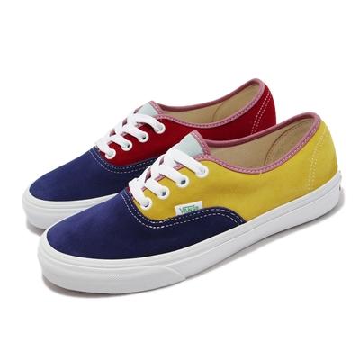 Vans 休閒鞋 Authentic 復古 經典 男女鞋 麂皮 亮色系撞色 抓地 耐磨 穿搭 多色 VN0A2Z5IWNY
