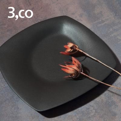 3,co 海洋四方盤(大) - 黑