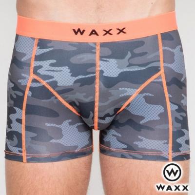 WAXX 夜襲迷彩-四面超彈性快乾四角男內褲