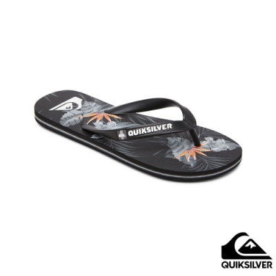 【QUIKSILVER】MOLOKAI EVERYDAY PARADISE 拖鞋 黑色
