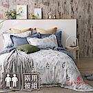 MONTAGUT-楓丹白露-100%萊賽爾纖維(天絲)-兩用被床包組(雙人)