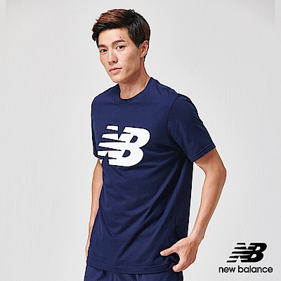 New Balance NB DRY 短袖上衣_MT91923PGM_男性_丈青