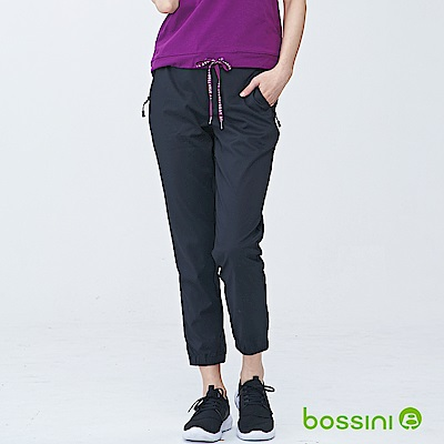 bossini女裝-休閒彈性束口褲01黑
