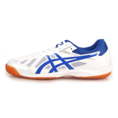 ASICS ATTACK HYPERBEAT SP 3 男女桌球鞋 白藍