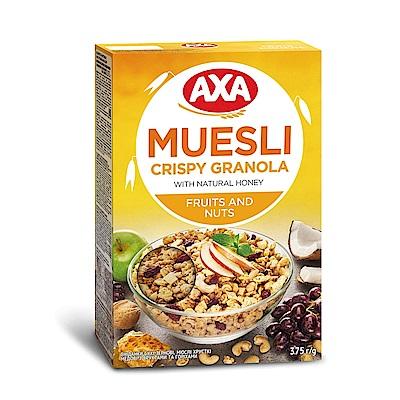 瑞典AXA 綜合水果堅果穀物麥片  375g