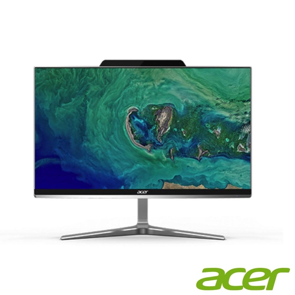 Acer Z24-890 八代i5六核雙碟獨顯AIO觸碰液晶電腦(i5-8400T/MX150/8G/1T/128G/Win10h)