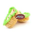 VICKY》寵物潔牙玩具香腸小漢堡11*6.5*6.5CM