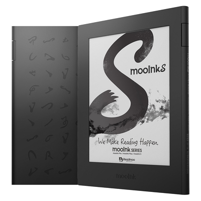 Readmoo 讀墨 mooInk S 6吋電子書閱讀器 (硯墨黑)