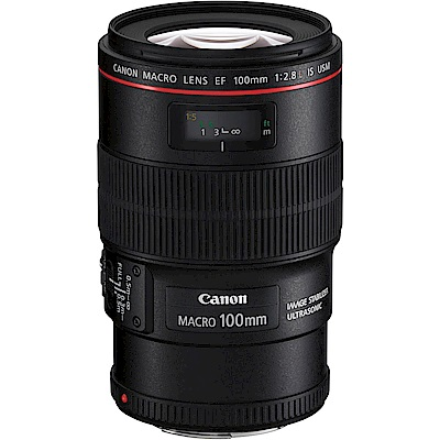 Canon  EF  100 mm f 2 . 8 L Macro IS USM (平行輸入)
