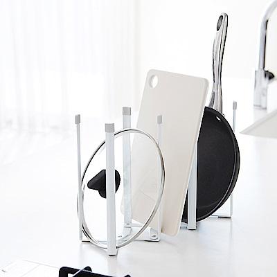 日本 YAMAZAKI-PLATE伸縮式多用途支撐架★廚房用品/瀝水架/置物架/多功能架