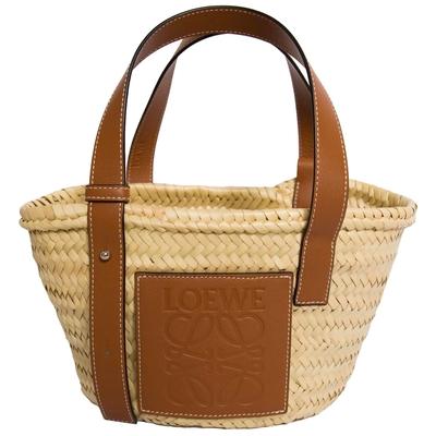 [領卷折660,專櫃缺貨款]Loewe 小款 草編包 Small Basket bag