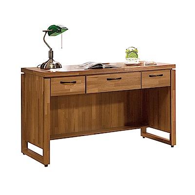 H&D 克里斯4尺三抽書桌