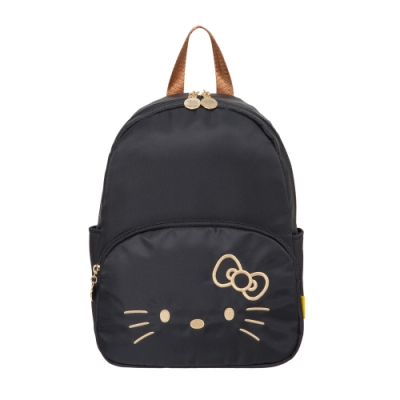 【Hello Kitty】經典凱蒂-迷你後背包-黑 FPKT0D001BK