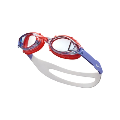 NIKE Chrome 訓練型兒童泳鏡 雷射赤紅 NESSA188-633