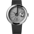 四度空間水泥機械錶-淬鍊白鋼款/45mm