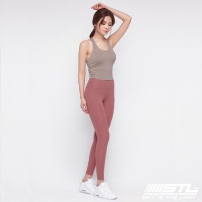STL Yoga Pure Leggings 9 韓國瑜珈『超高腰』運動機能 快速排汗 專業訓練長 緊身/壓力褲 純粹乾燥玫瑰 Magic Light Quick Dry