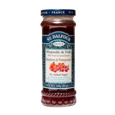 法國聖桃園石榴覆盆子果醬 284g