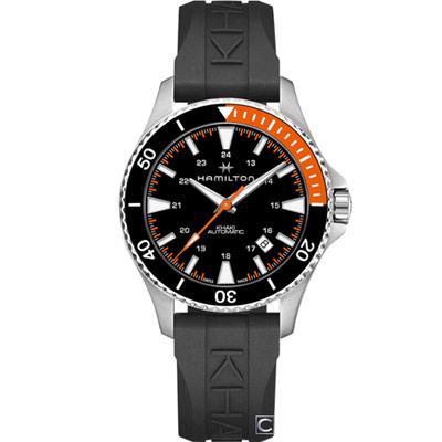 Hamilton漢米爾頓Khaki 100米潛水機械錶H82305331 40mm