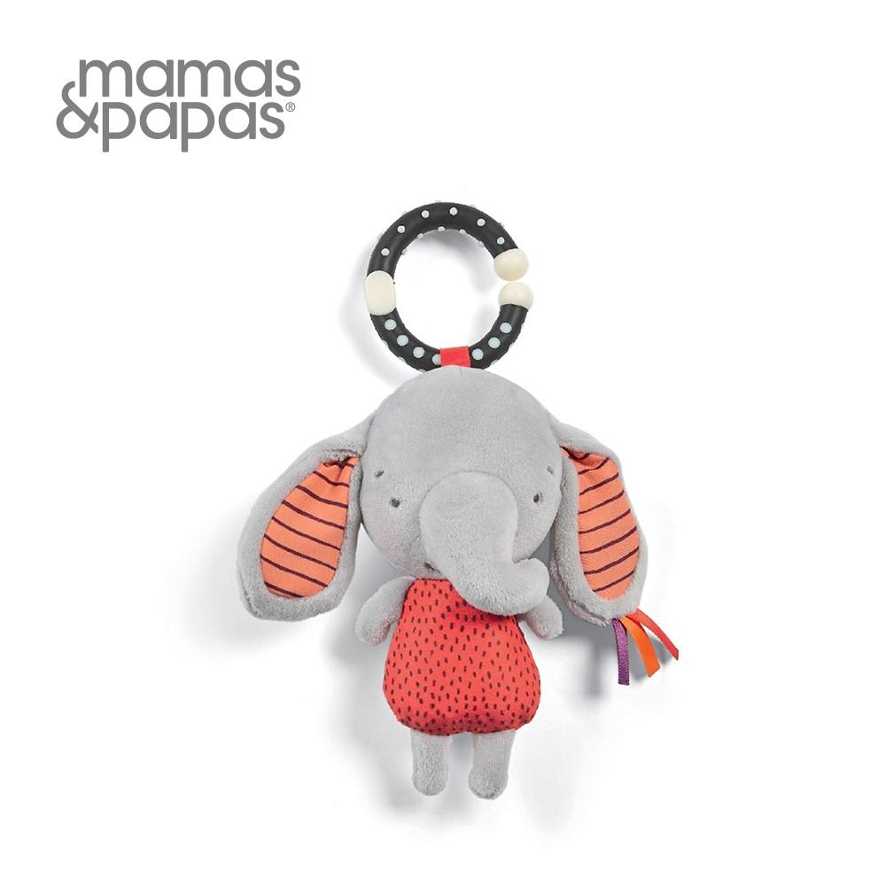 【Mamas & Papas】小隻的草莓象艾比(吊飾玩偶)