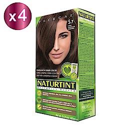 NATURTINT 赫本染髮劑 5.7 巧克力棕色x4 (155ml/盒)