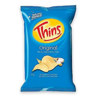 澳洲THINS 洋芋片海鹽口味(45g)