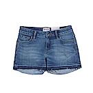 Timberland 女款淺藍色毛邊Meadow Lake牛仔短褲|A1J9N