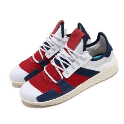 adidas 休閒鞋 BBC HU V2 襪套式 女鞋 海外限定 愛迪達 三葉草 穿搭推薦 白 紅 BB9549
