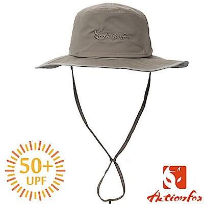 挪威 ACTIONFOX 男新款 速乾脫卸式帽冠遮陽帽UPF50+_深卡
