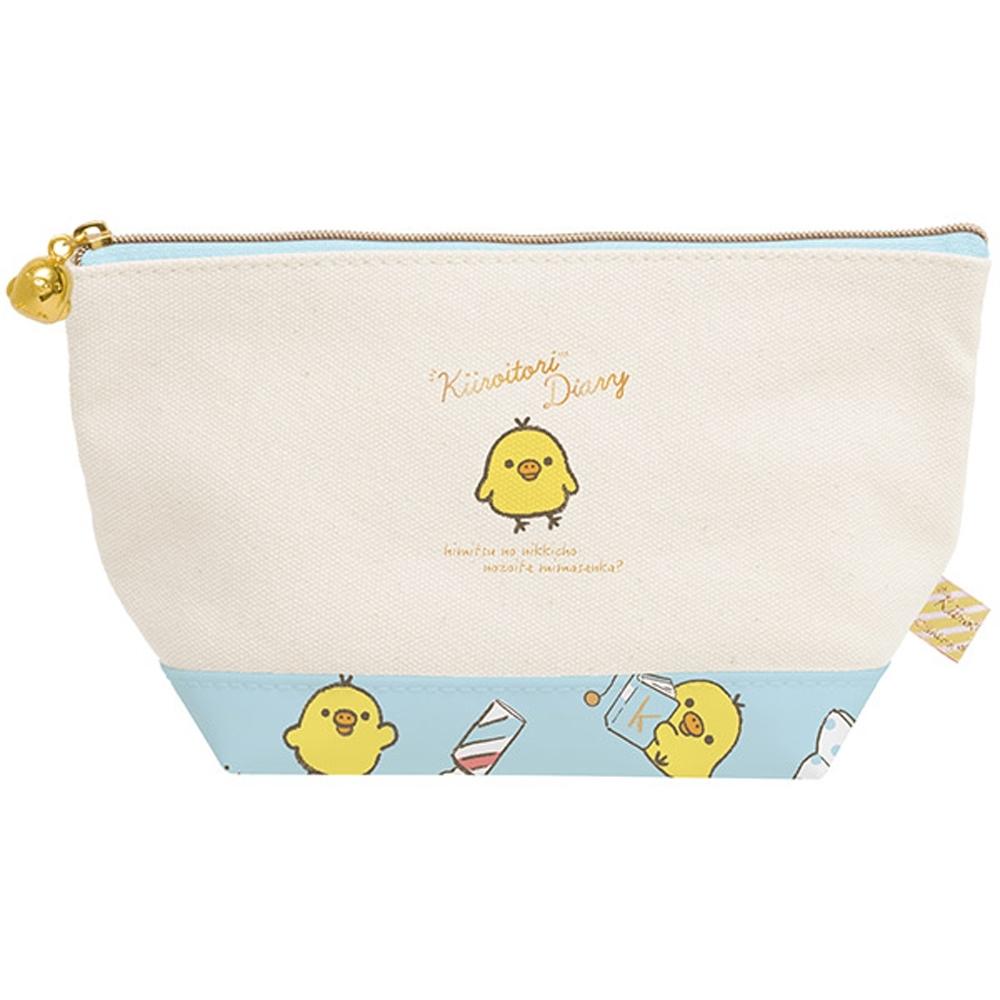 黃小雞的手繪日記系列帆布化妝包San-X