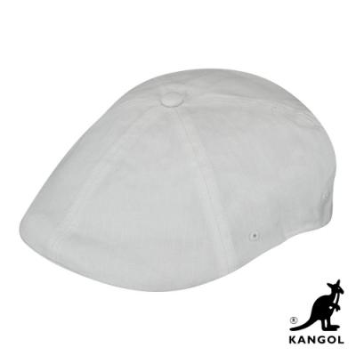 KANGOL -504 RIPSTOP 鴨舌帽-白色