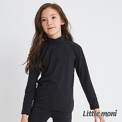 Little moni 發熱紗高領上衣(四色可選)
