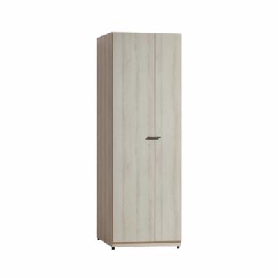 Bernice-凱威灰橡2.5×7尺單雙吊衣櫥-75x57x195cm