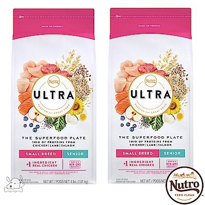 ~Nutro 美士~ULTRA 大地極品 小型犬高齡養生配方 4磅 2包組