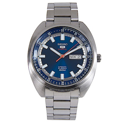 SEIKO 方圓之間我的原則 5號手動機械男錶 (SRPB15K1)-藍x45mm