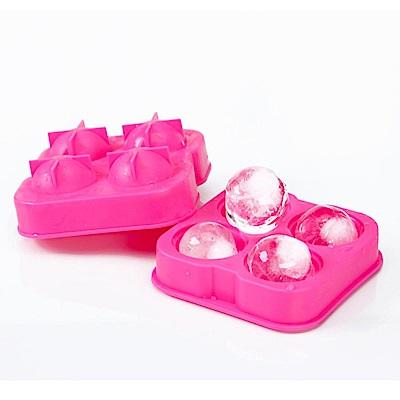 iSFun 圓型冰球 塑料造型製冰盒