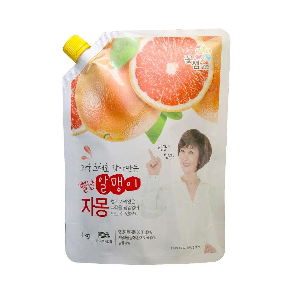 花泉 蜂蜜葡萄柚茶-果醬(500g)