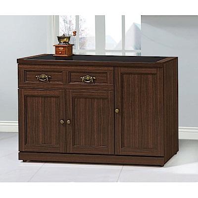 MUNA 羅拉特胡桃色4尺餐櫃(下座) 114X41X82.4cm