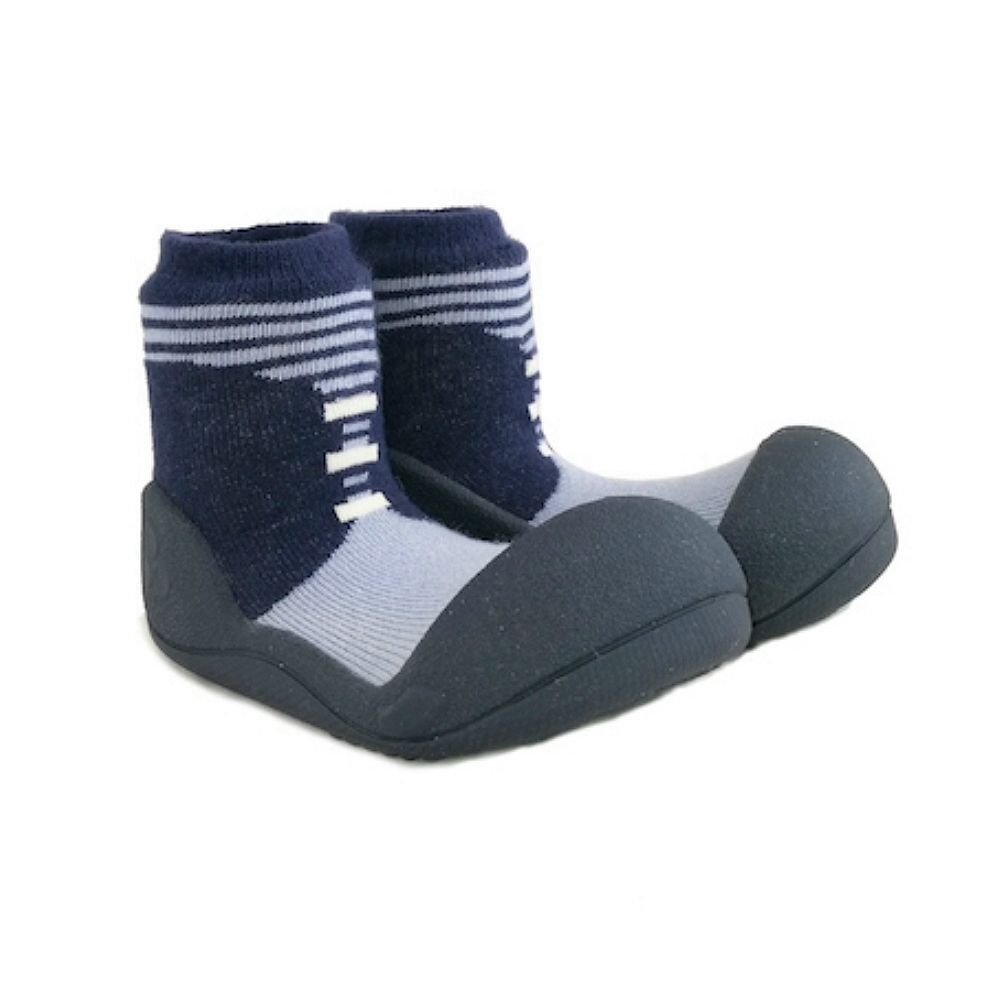 韓國Attipas 快樂學步鞋ASBO01-英倫紳士藍
