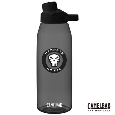 【美國 CamelBak】1500ml Chute Mag 戶外運動水瓶 骷髏黑