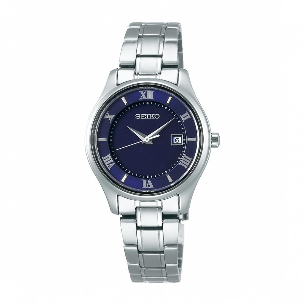 SEIKO精工 藍寶石鏡面鈦金屬太陽能腕錶STPX065J/V137-0DG0B