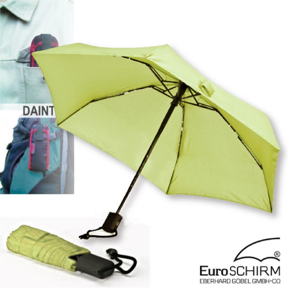 德國EuroSCHIRM DAINTY抗UV輕便自動傘-淡綠