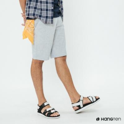 Hang Ten - 男裝 - 夏日簡約口袋短褲 - 藍