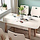 hoi! 時尚簡約大理石紋鋼化玻璃折疊餐桌 1.2M LS159-玫瑰金色 (H014263089) product thumbnail 1