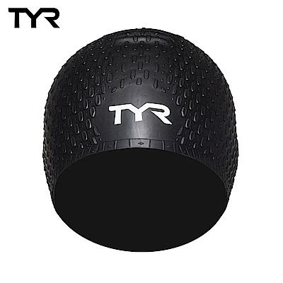 美國TYR 女用凸點泳帽 Long Hair Silicone Cap