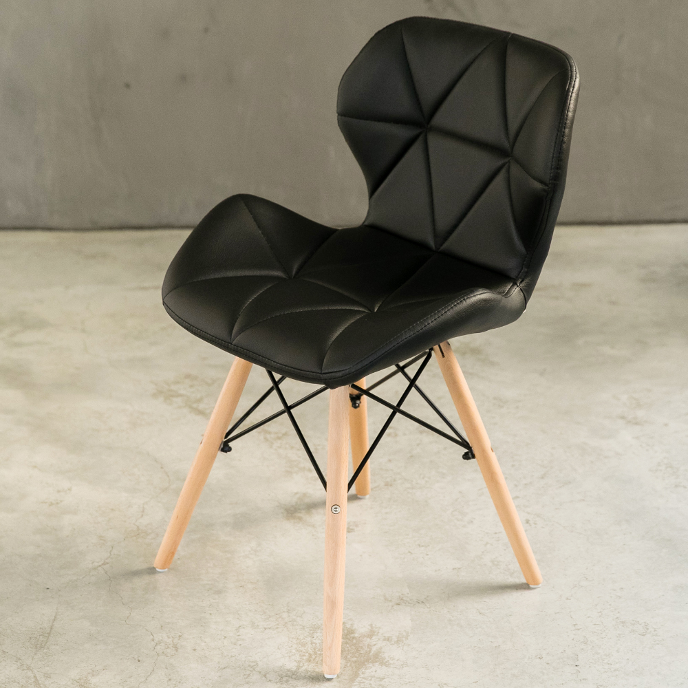 【日居良品】2入組-Belle 蝶翼美型時尚休閒椅/餐椅 @ Y!購物