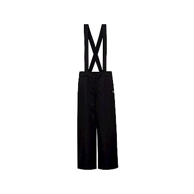 FILA 女款吊帶褲-黑色 5PNT-1491-BK